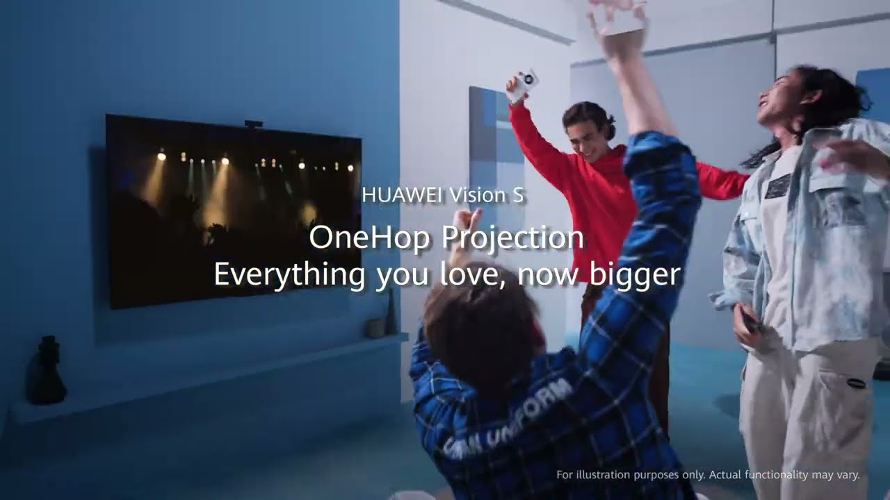 HUAWEI Vision S: OneHop projection