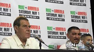 """Chris Arreola Heated """"Boxing Judges Raped Me With No Vaseline With Those Cards""""  EsNews Boxing"""