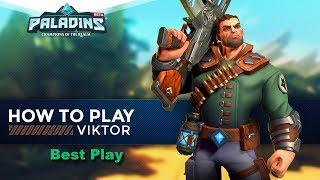 Paladins:  Champions Viktor melhor jogada
