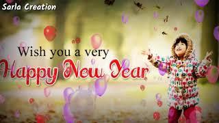 💕Happy New Year 2019 special lyrics 💕whatsapp status English Hindi Punjabi Tamil Gujarati😍