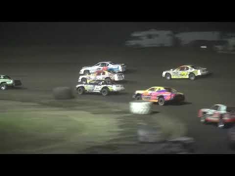 IMCA Stock Car feature Benton County Speedway 8/4/19