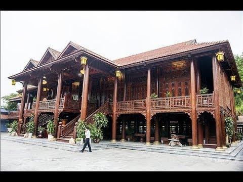 Cận cảnh nhà sàn gỗ lim 200 tỷ lớn nhất Việt Nam, bền hơn cả nhà bê-tông cốt thép
