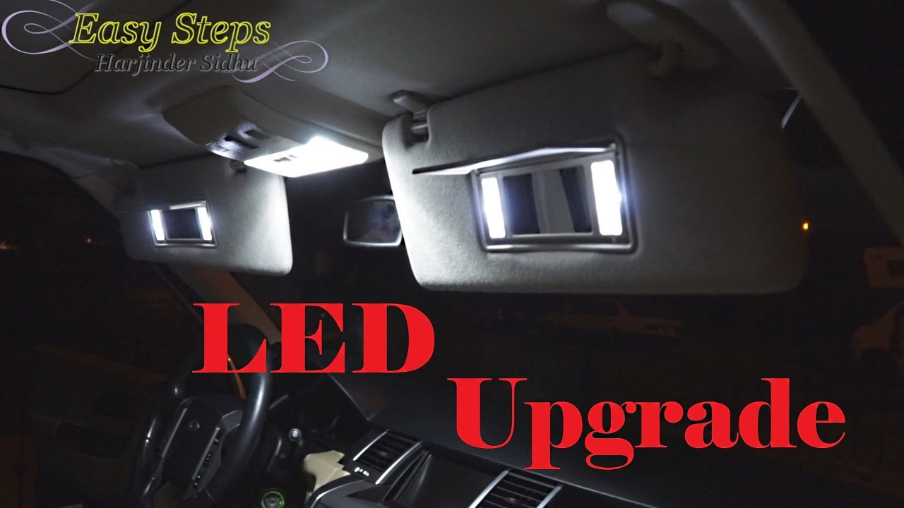LED Interior Lights Upgrade for Range Rover Sport | How to ...