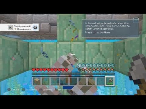 Minecraft Moskstraumen Trophy Guide Youtube