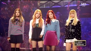 Cover images BLACKPINK - 'STAY' 1106 SBS Inkigayo