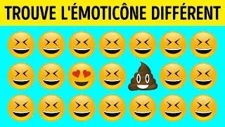Seules 5% Des Personnes Peuvent Trouver L'émoticône Différent