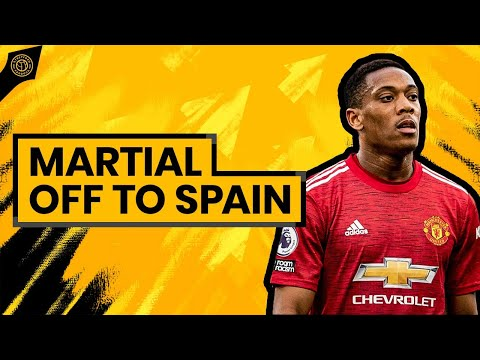 £50 Million Down The Drain? Tony Martial Off To SPAIN? | Man United Transfer News