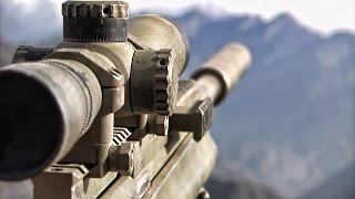 Marine Corps Scout Snipers & U.S. Army Snipers • In Action