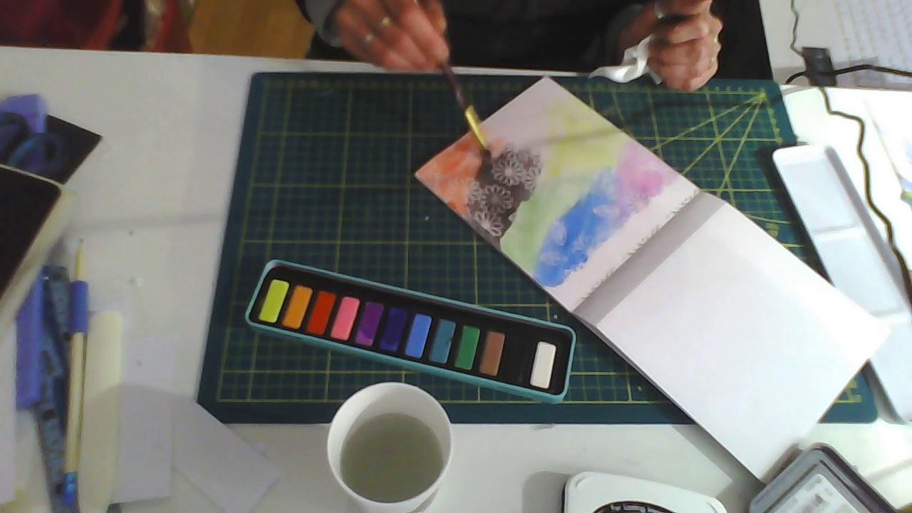 Je Teste La Peinture Aquarelle De Chez Action Youtube