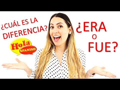 Era vs Fue - Imperfecto o Pretérito o Indefinido | Spanish Past Tense | Los Pasados | HOLA SPANISH