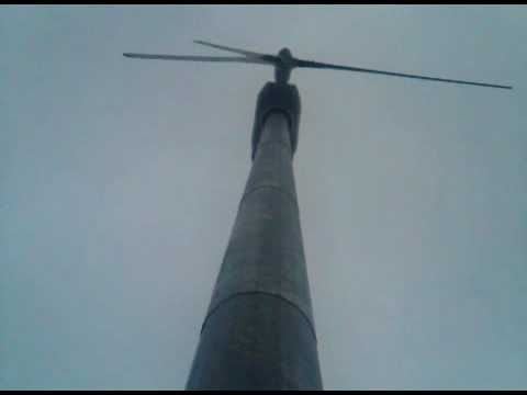 A squeaky C&F wind turbine