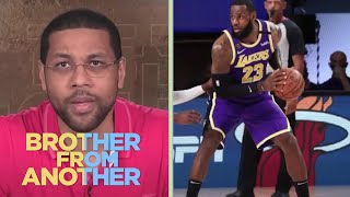 LeBron James has successfully separated from Michael Jordan| Brother From Another | NBC Sports