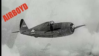 How To Fly The P-47 - High Altitude Flight and Aerobatics (1943)