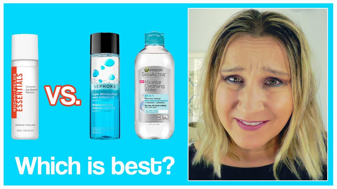 R F Makeup Remover Review Rodan Fields Vs Sephora Garnier