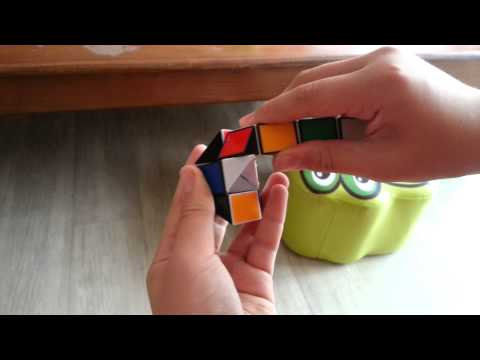 스네이크 큐브 만들기 공
