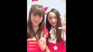 20161126 原宿駅前パーティーズ LINELIVE 伊藤貴璃、磯部杏莉(原駅ステ...