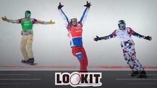 Alex Deibold takes snowboardcross bronze, Bergsma and Dutch dominate 10,000m speed skating (Lookit)