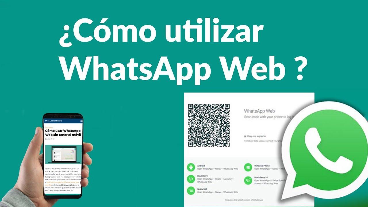 se puede usar whatsapp web sin internet en el celular