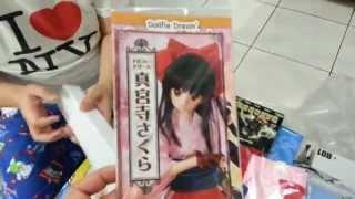 SAKURA SHINGUJI dollfie dream unboxing & stuck pantsu