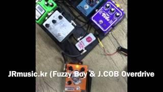 JRmusic.kr Dirtyboy pedals Fuzzy Boy & JR Custom pedals JCOB OV