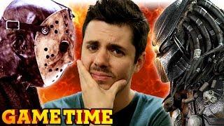 JASON VS PREDATOR VS JOVEN (Gametime w/ Smosh Games)