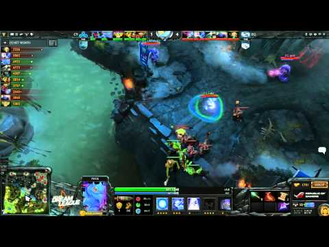 EG vs Cloud9 - DreamLeague #2 - playoffs - G1