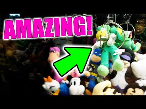 THIS IS THE BEST CLAW MACHINE EVER!