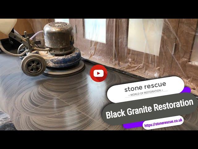 Black Granite Restoration