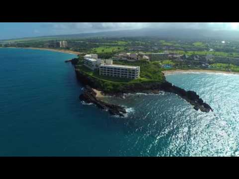 Maui In 4K!!! Stunning Kaanapali Beach and BlackRock drone footage