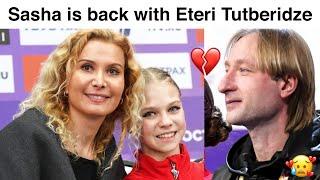 Alexandra Trusova is back with Eteri Tutberidze Plushenko confirmed