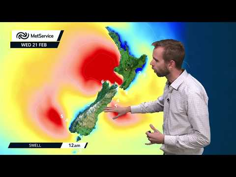 Severe Weather Warnings For NZ : Tues 20 Feb & Wed 21 Feb 2018 [NZ Met Service]