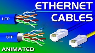 Ethernet Cables, UTP vs STP, Straight vs Crossover, CAT 5,5e,6,7,8 Network Cables