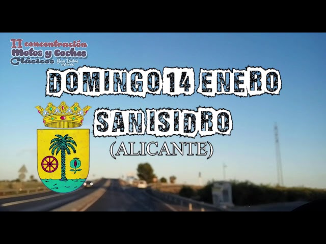 Concentracion de motos y coches clasicos san isidro 14 de enero -San Isidro (alicante)
