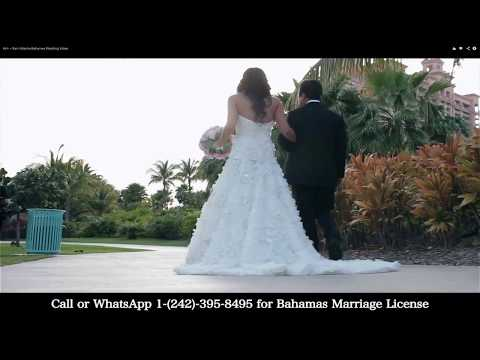 How Much is a Marriage License in The Bahamas