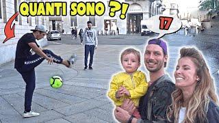 Se INDOVINI ti REGALO il MIO PALLONE !! GUESS MY TRICK Ep.1 ! Footwork Italia