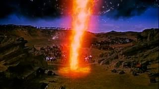 Mosè apre le acque del Mar Rosso