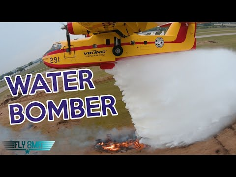 The CL215 Water Bomber Flight | Oshkosh🛩️