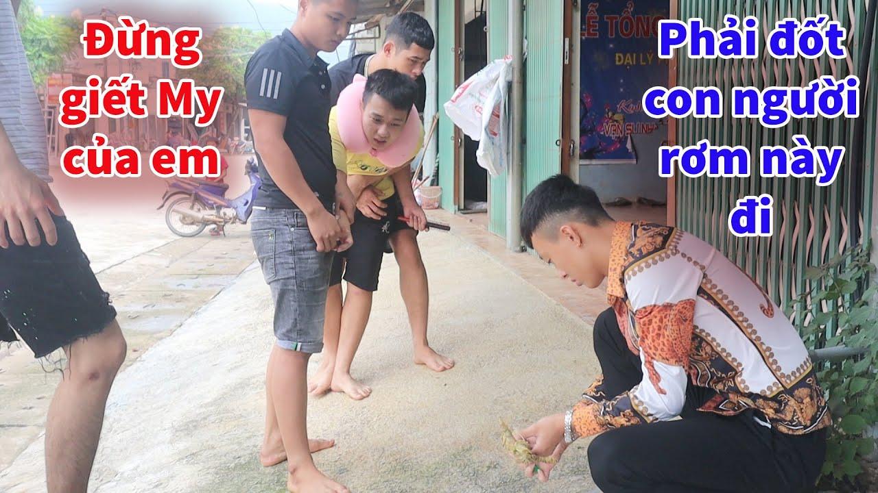 Dương Phúc Chiến Đốt Hình Nộm Để giải Thoát Hồn Ma Nữ Theo Sơn Chuột