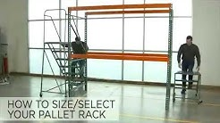 Pallet Rack Selection Guide & Calculation Help