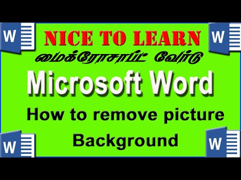 How To Remove Picture Background In Microsoft Word 2010