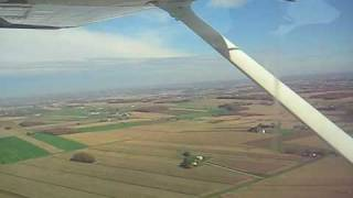 Takeoff and landing at Wayne county