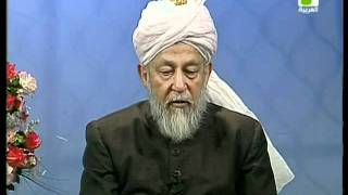 Liqa Ma'al Arab 16 June 1998 Question/Answer English/Arabic Islam Ahmadiyya