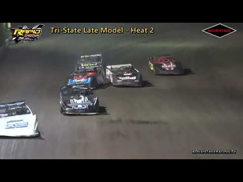 Tri-State Late Model Heats - Rapid Speedway - 9/15/18