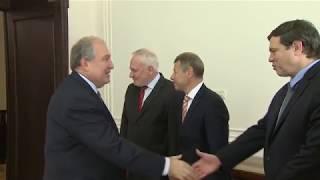 Արմեն Սարգսյանն ընդունել է ԵԱՀԿ Մինսկի խմբի համանախագահներին