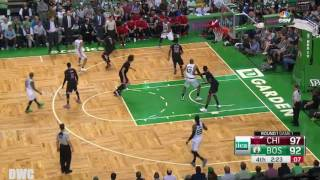 Jimmy Butler Defense On Isaiah Thomas In 4th Q, April 16, Playoffs 2017, R1G1