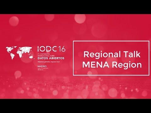 Room F - Regional Talk MENA Region - Oct. 6