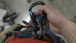 Mammut Bionic Crosslock belay carabiner