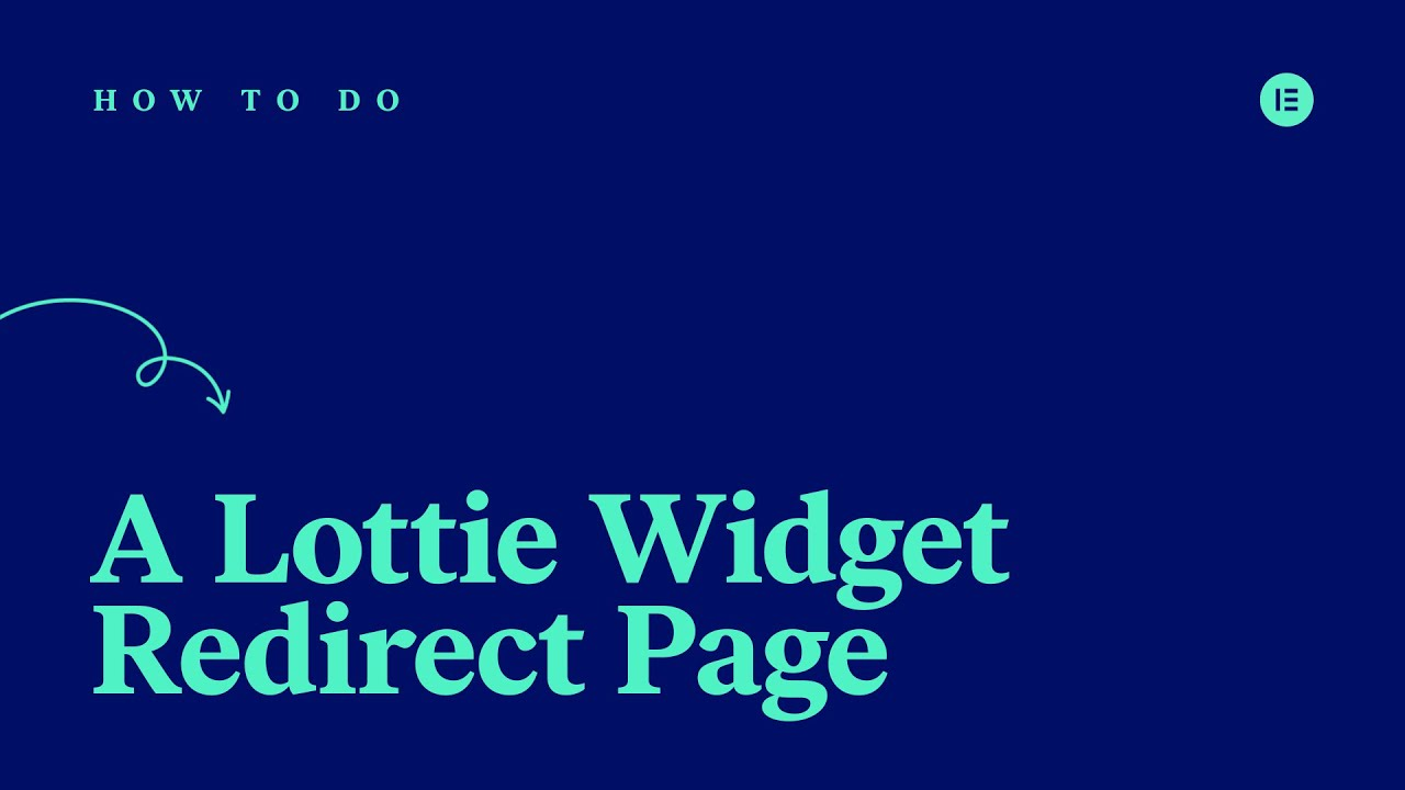 How to Redirect to a Lottie Widget Thank You Page
