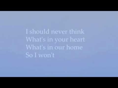 Never Think by Robert Pattinson with lyrics