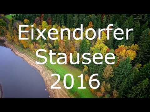 4K UHD Eixendorfer Stausee damals und heute nähe Neunburg v.W.